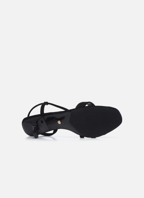 Sandales et nu-pieds Dune London MISO Noir vue haut