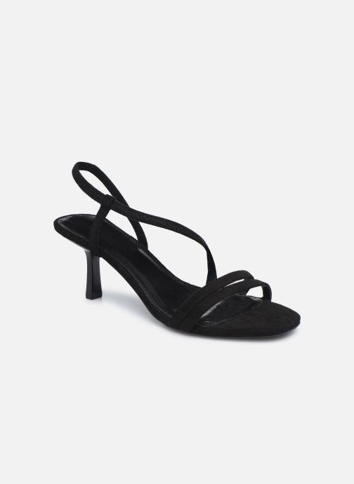Sandales et nu-pieds Dune London MISO Noir vue détail/paire