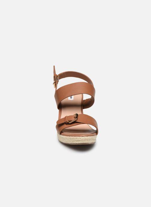 Sandali e scarpe aperte Dune London KENDYLL Marrone modello indossato