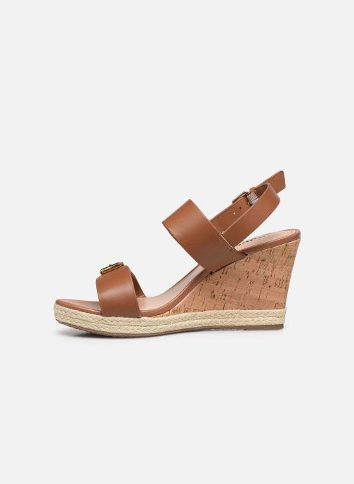 Sandali e scarpe aperte Dune London KENDYLL Marrone immagine frontale