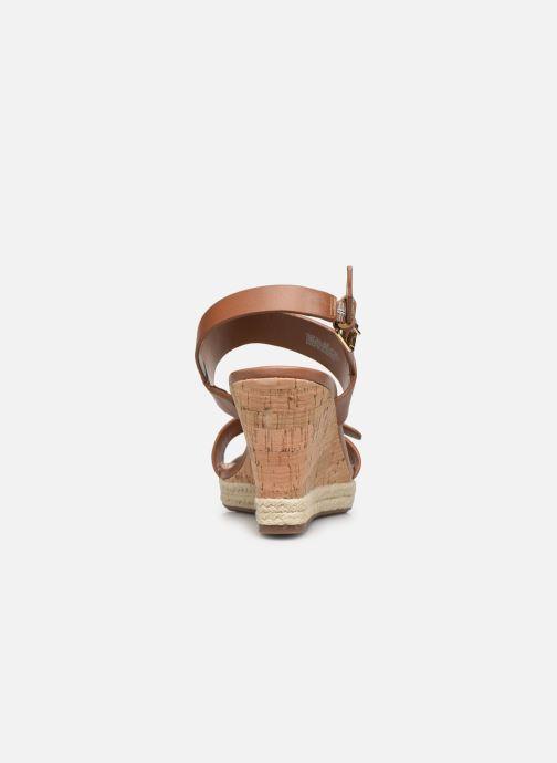 Sandali e scarpe aperte Dune London KENDYLL Marrone immagine destra
