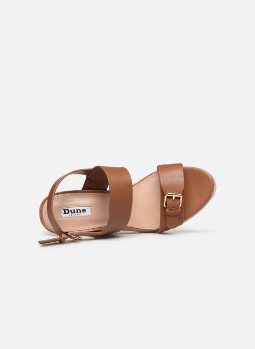 Sandali e scarpe aperte Dune London KENDYLL Marrone immagine sinistra