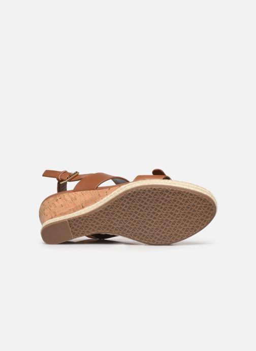 Sandali e scarpe aperte Dune London KENDYLL Marrone immagine dall'alto