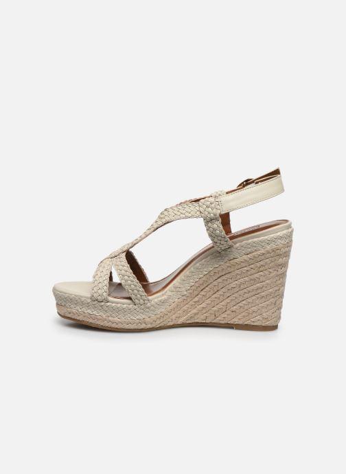 Sandales et nu-pieds Dune London KEW Blanc vue face