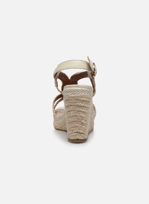 Sandali e scarpe aperte Dune London KEW Bianco immagine destra