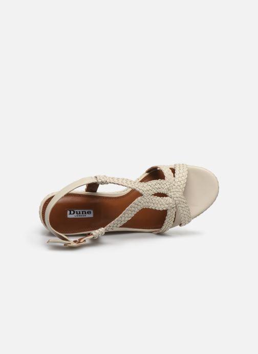 Sandales et nu-pieds Dune London KEW Blanc vue gauche