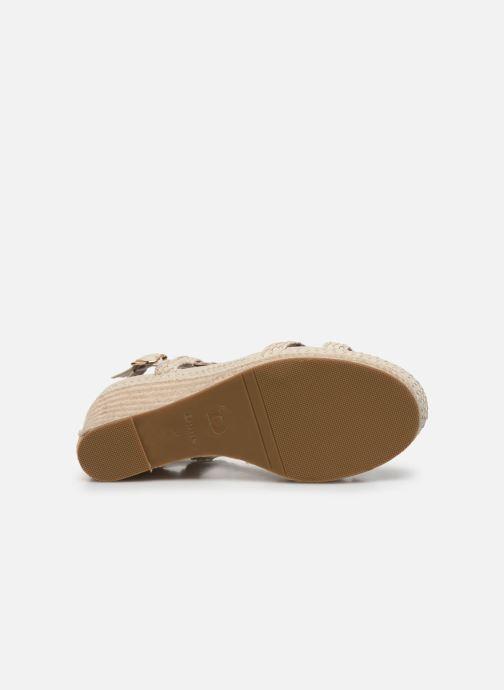 Sandales et nu-pieds Dune London KEW Blanc vue haut