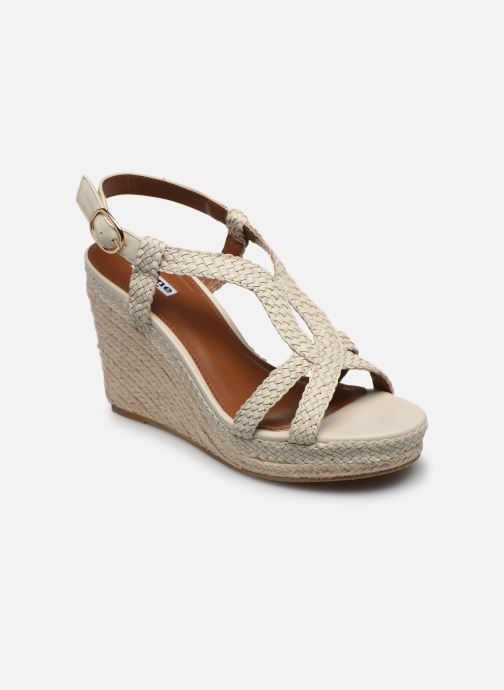 Sandales et nu-pieds Dune London KEW Blanc vue détail/paire