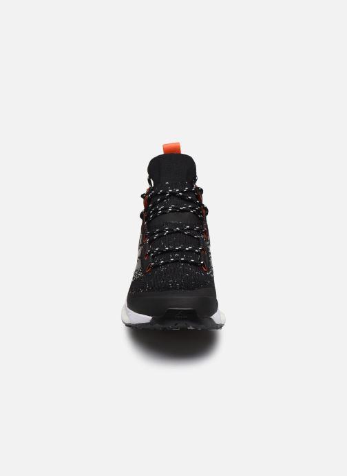 Chaussures de sport adidas performance Terrex Free Hiker Parley Noir vue portées chaussures