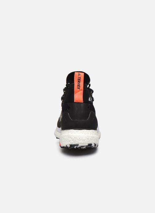 Zapatillas de deporte adidas performance Terrex Free Hiker Parley Negro vista lateral derecha