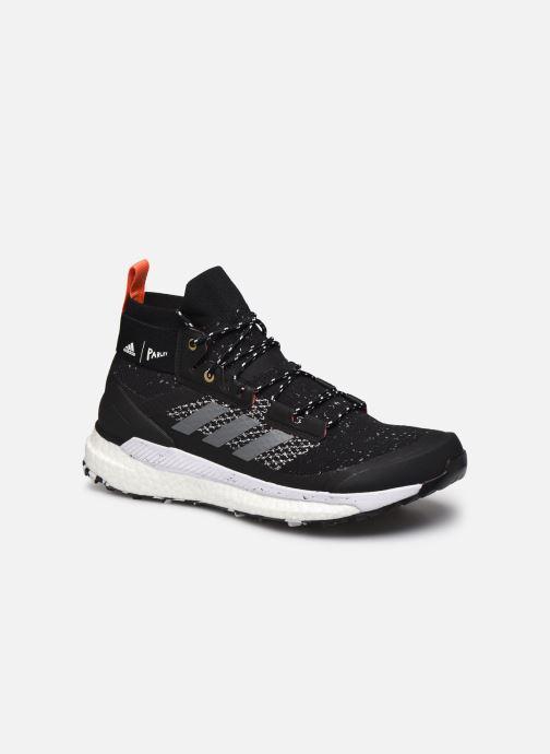 Sportschuhe adidas performance Terrex Free Hiker Parley schwarz detaillierte ansicht/modell
