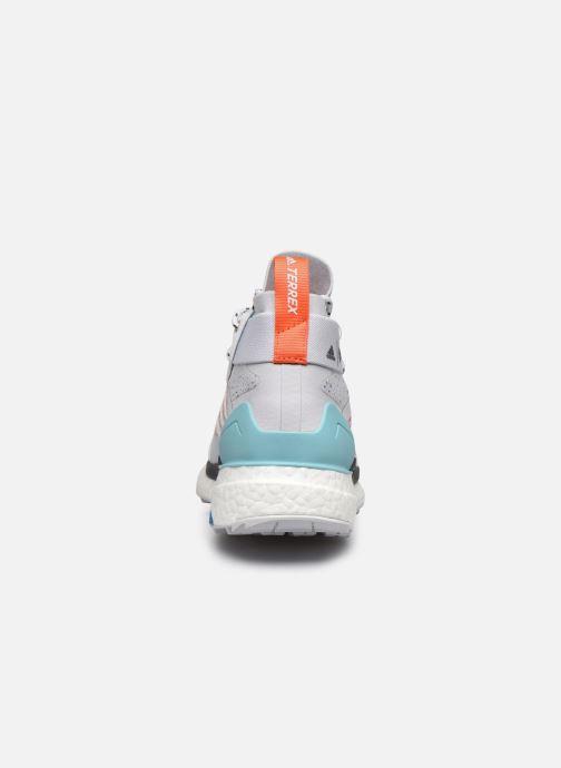 Zapatillas de deporte adidas performance Terrex Free Hiker Parley Gris vista lateral derecha