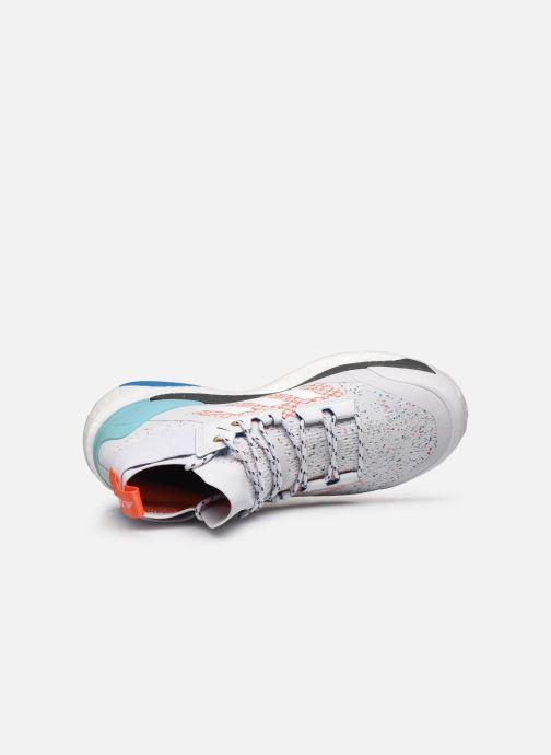 Zapatillas de deporte adidas performance Terrex Free Hiker Parley Gris vista lateral izquierda