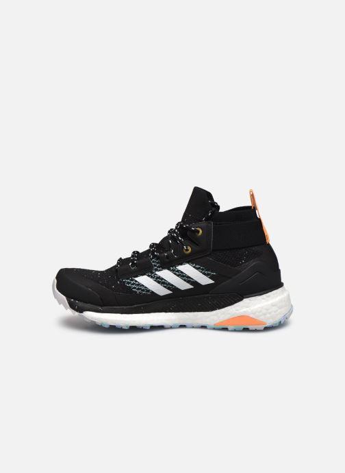 Chaussures de sport adidas performance Terrex Free Hiker Parley W Noir vue face