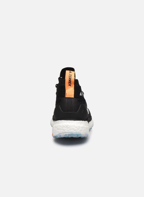 Zapatillas de deporte adidas performance Terrex Free Hiker Parley W Negro vista lateral derecha