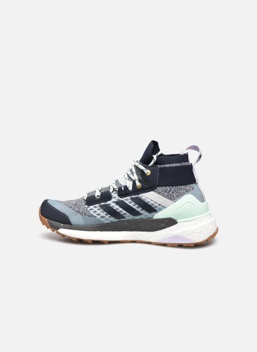 Chaussures de sport adidas performance Terrex Free Hiker W Bleu vue face