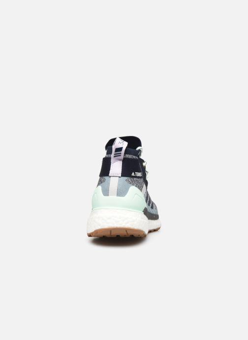 Chaussures de sport adidas performance Terrex Free Hiker W Bleu vue droite