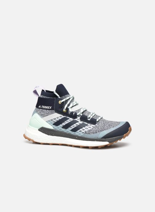 Chaussures de sport adidas performance Terrex Free Hiker W Bleu vue derrière