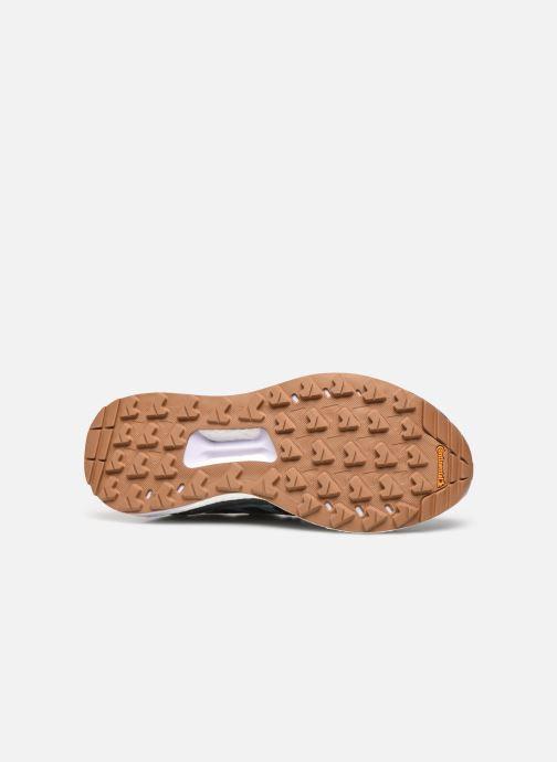 Chaussures de sport adidas performance Terrex Free Hiker W Bleu vue haut