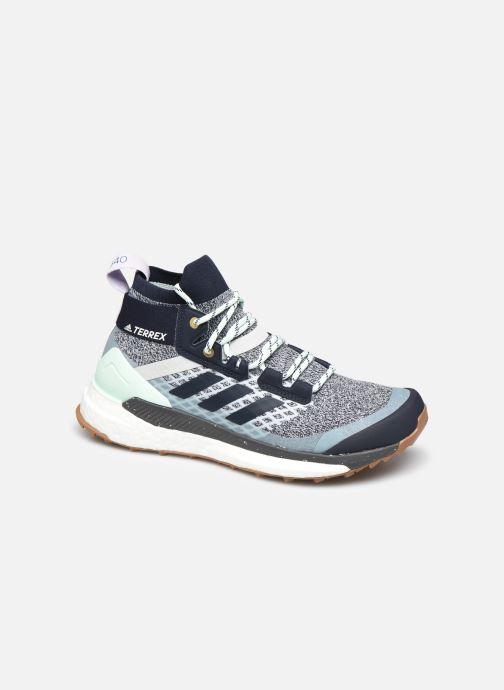 Chaussures de sport adidas performance Terrex Free Hiker W Bleu vue détail/paire