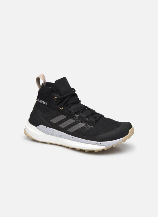 Chaussures de sport adidas performance Terrex Free Hiker W Noir vue détail/paire