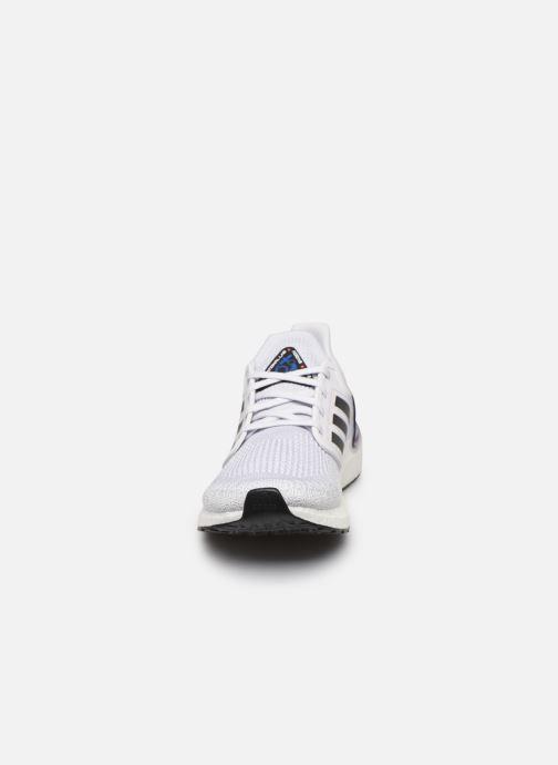 Chaussures de sport adidas performance Ultraboost 20 Gris vue portées chaussures