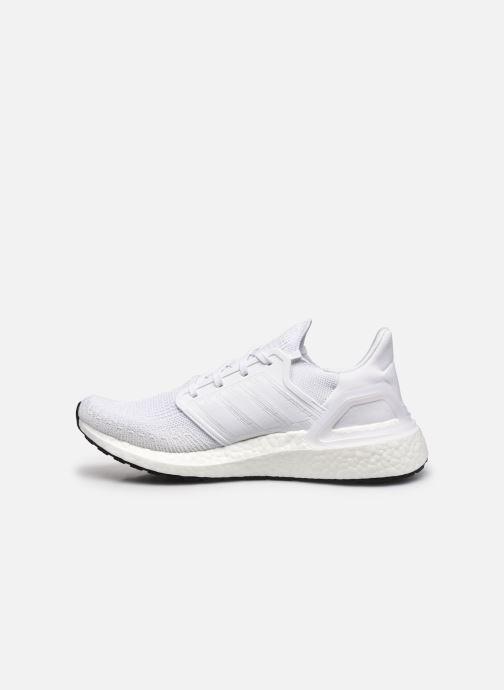 Chaussures de sport adidas performance Ultraboost 20 Blanc vue face
