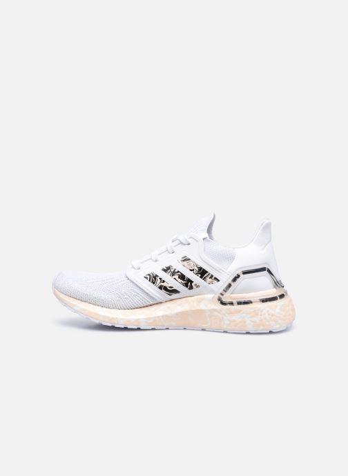 Chaussures de sport adidas performance Ultraboost 20 W Blanc vue face