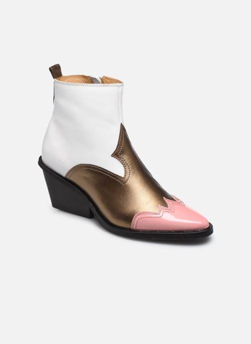 Bottines et boots Another Project Fiona Blanc vue détail/paire