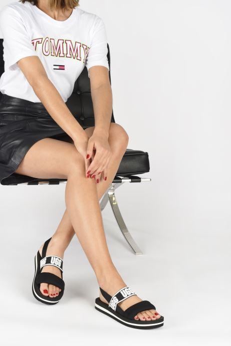 Sandales et nu-pieds UGG Zuma Sling Noir vue bas / vue portée sac