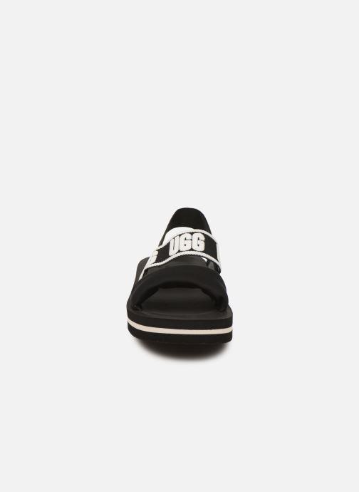 Sandales et nu-pieds UGG Zuma Sling Noir vue portées chaussures