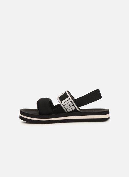 Sandales et nu-pieds UGG Zuma Sling Noir vue face