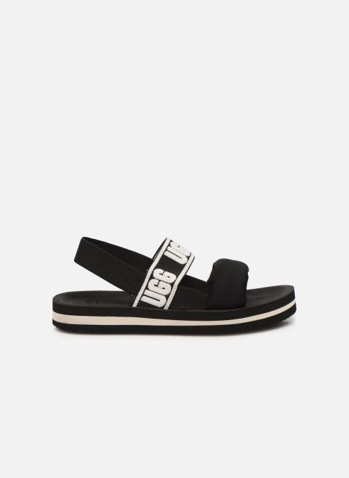 Sandales et nu-pieds UGG Zuma Sling Noir vue derrière