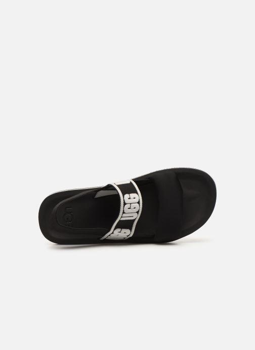 Sandales et nu-pieds UGG Zuma Sling Noir vue gauche