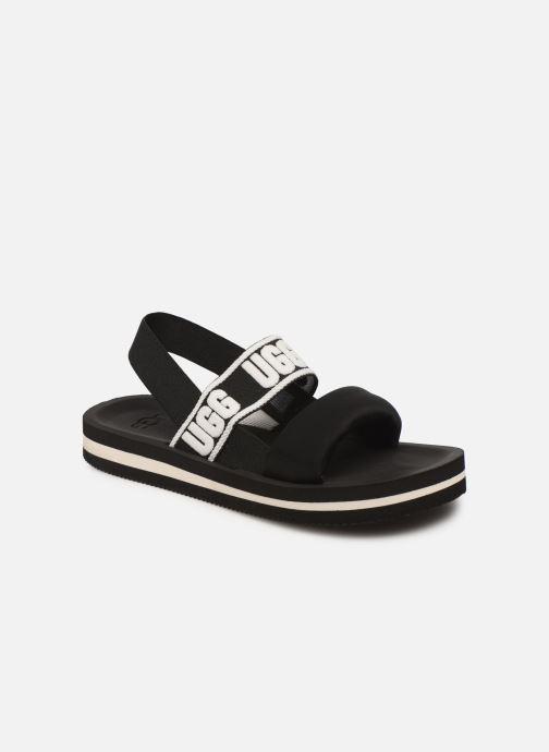 Sandales et nu-pieds UGG Zuma Sling Noir vue détail/paire