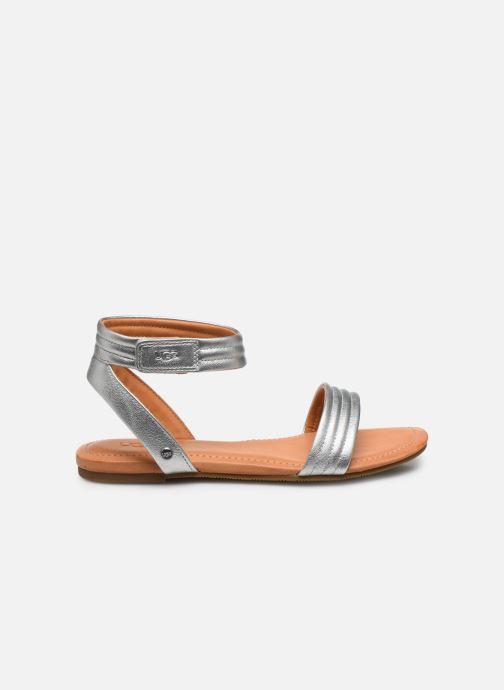 Sandales et nu-pieds UGG Ethena Argent vue derrière