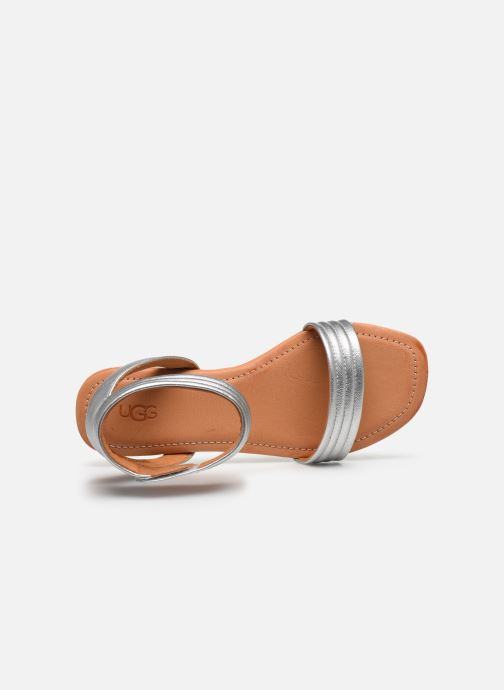 Sandali e scarpe aperte UGG Ethena Argento immagine sinistra