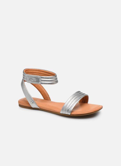 Sandales et nu-pieds UGG Ethena Argent vue détail/paire