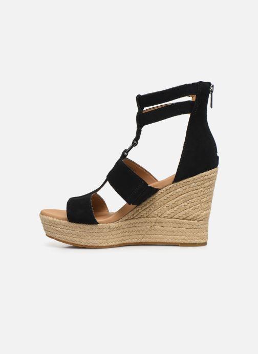 Sandales et nu-pieds UGG Kolfax Noir vue face