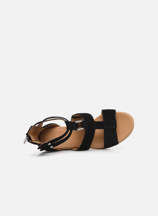 Sandales et nu-pieds UGG Kolfax Noir vue gauche