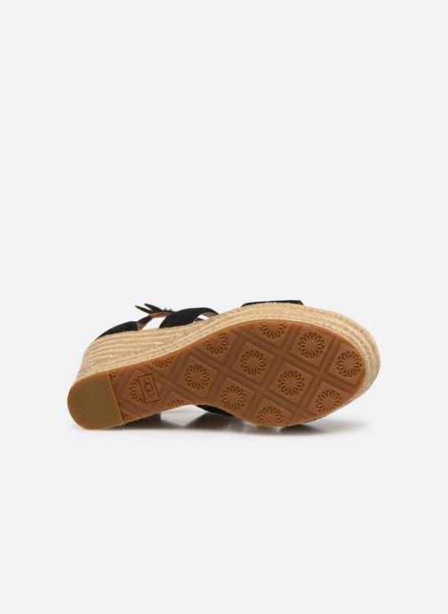 Sandales et nu-pieds UGG Kolfax Noir vue haut