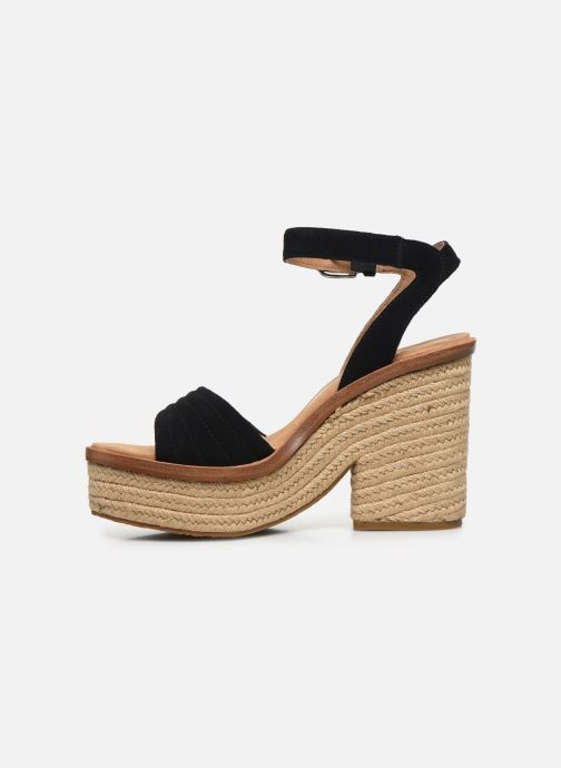 Sandali e scarpe aperte UGG Laynce Nero immagine frontale