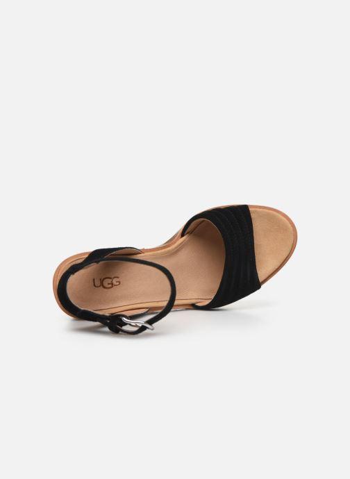 Sandali e scarpe aperte UGG Laynce Nero immagine sinistra
