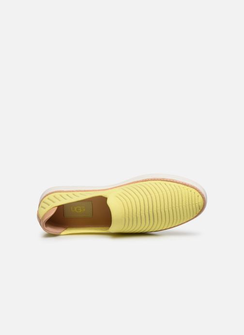 Baskets UGG Sammy Breeze Jaune vue gauche