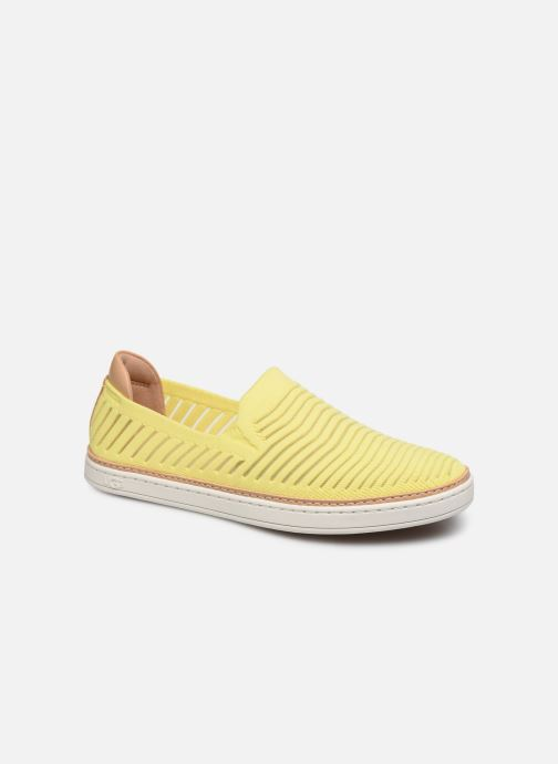 Baskets UGG Sammy Breeze Jaune vue détail/paire