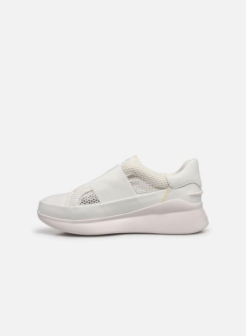 Sneaker UGG Libu Lite Mesh weiß ansicht von vorne