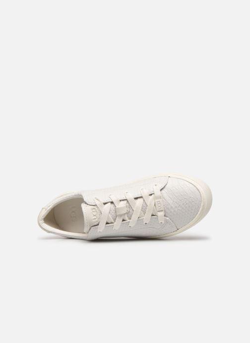 Sneaker UGG Zilo weiß ansicht von links