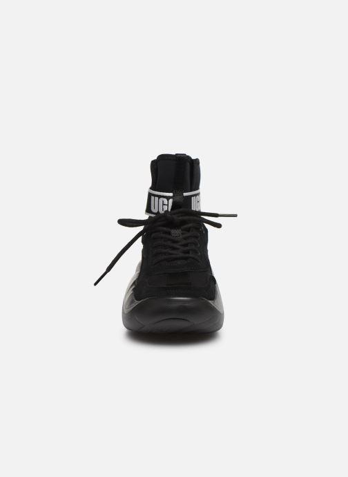 Baskets UGG LA Cloud Hi Noir vue portées chaussures