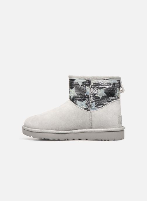 Bottines et boots UGG Classic Mini Sequin Stars Gris vue face