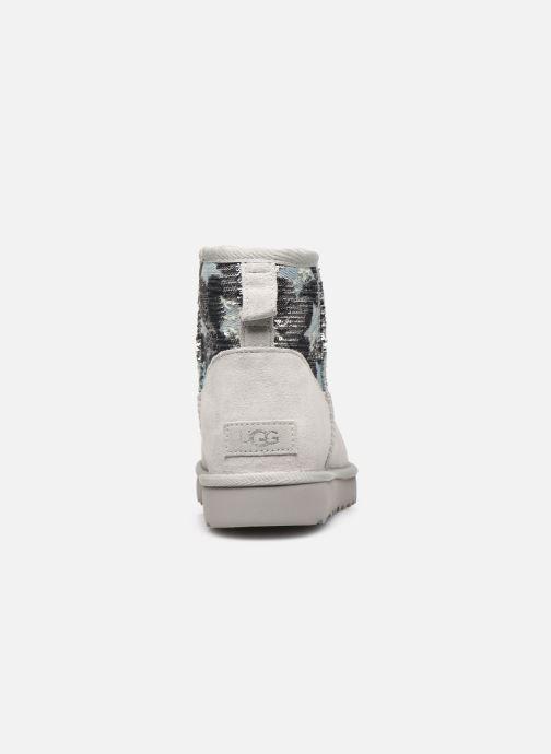 Bottines et boots UGG Classic Mini Sequin Stars Gris vue droite